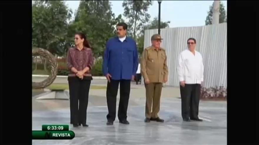 Maduro viaja a Cuba para honrar a Fidel Castro