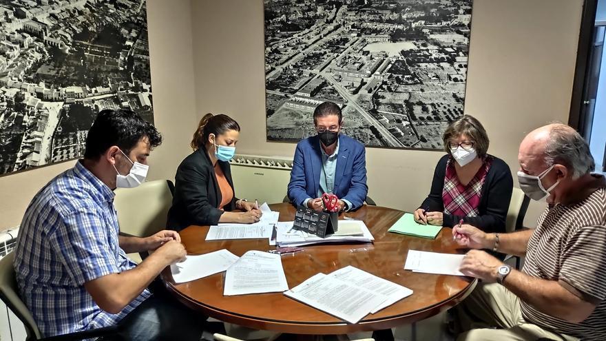 Sant Joan rubrica el inicio de las obras de accesibilidad valoradas en 500.000 euros