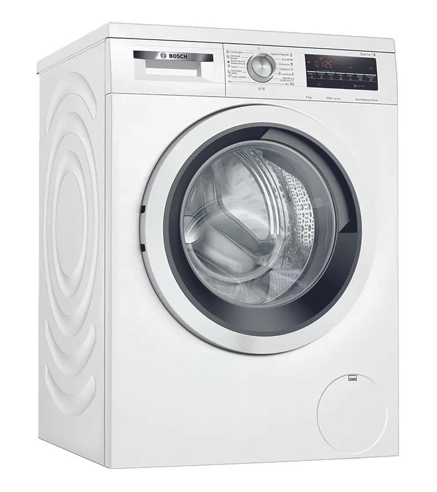 Lavadora Bosch 9 kg, 1200rpm y A+++ por solo 429 euros.
