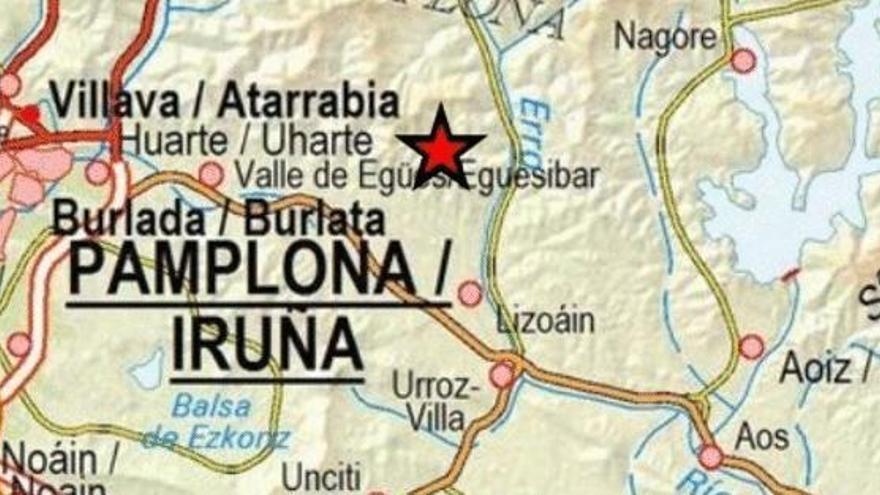 Registrado en Navarra un terremoto de magnitud 4,6