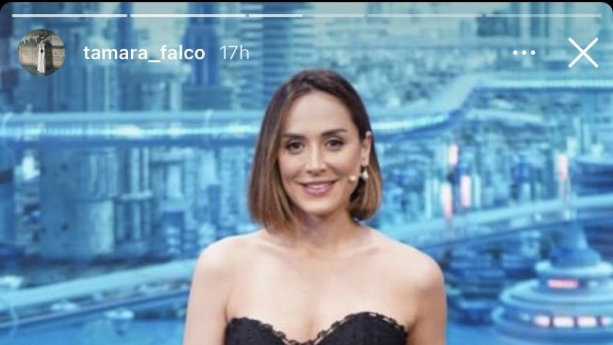 Tamara Falcó luce en 'El Hormiguero' un top de la diseñadora de Ibiza Charo Ruiz