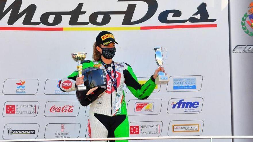 Andrea Sibaja vuelve con un triunfo en el campeonato andaluz de Open 600