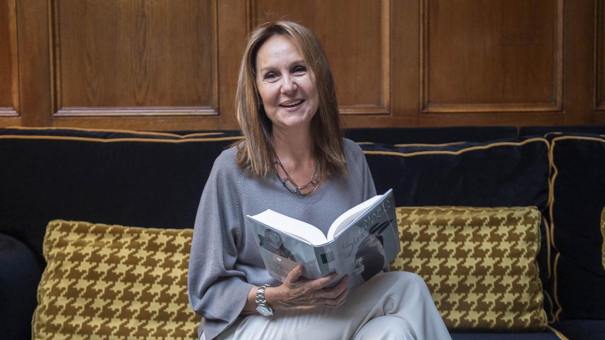 María Dueñas ha participado en todo el proceso creativo.