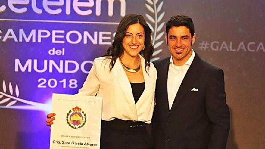 La zamorana Sara García, premiada en la Gala de la Federación Española