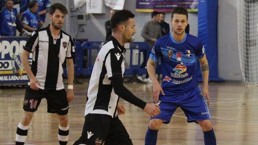 El Peñíscola FS se asegura la permanencia tras superar al Levante (1-0)
