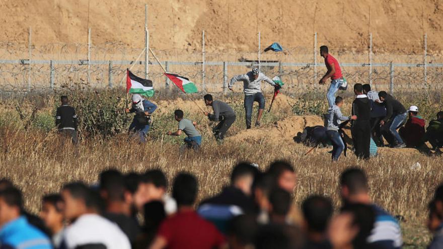 Un muerto en un ataque de represalia israelí sobre Gaza