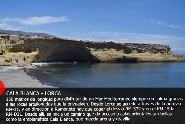 Las calas más secretas de la Región de Murcia