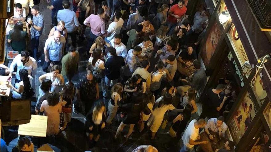 Un juez ordena a Málaga que haga cumplir la ley sobre el ruido en Mitjana