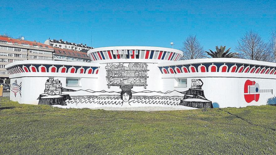 Sada rinde tributo a Díaz Pardo en su nuevo espacio multiusos
