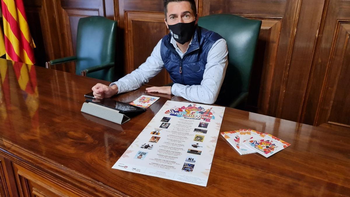 El concejal de Cultura del Ayuntamiento de Teruel, Carlos Méndez