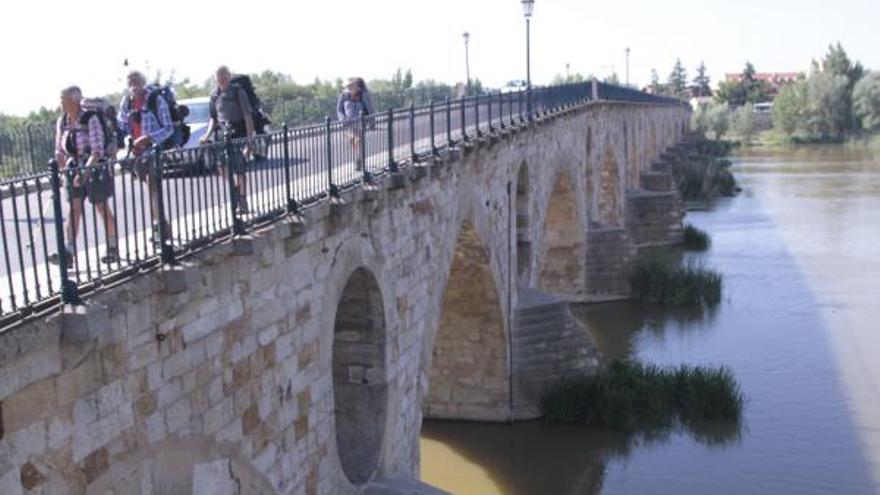 Las Cortes piden a la Junta la declaración BIC del Puente de Piedra de Zamora