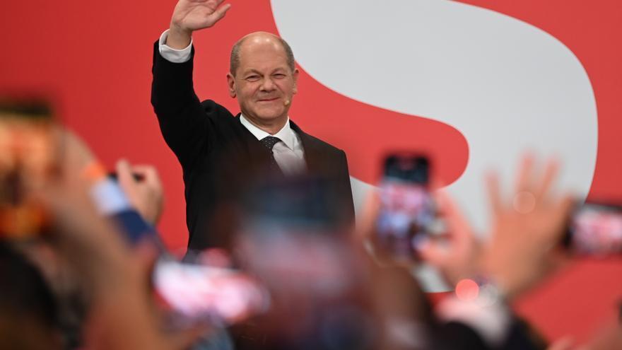 Acuerdo preliminar de socialdemócratas, verdes y liberales para gobernar en Alemania