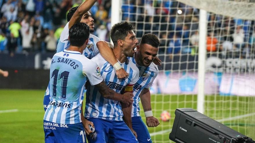 Adrián reafirma su predisposición absoluta a quedarse en el Málaga CF