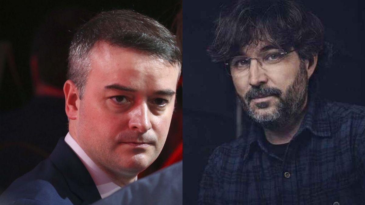 Iván Redondo and Jordi Évole.