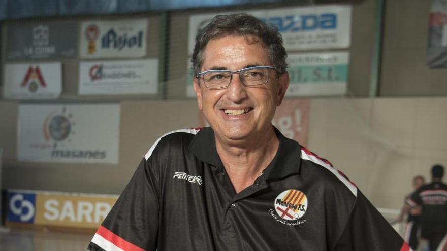 Sito Rivera deixarà dissabte de ser entrenador del Manresa FS