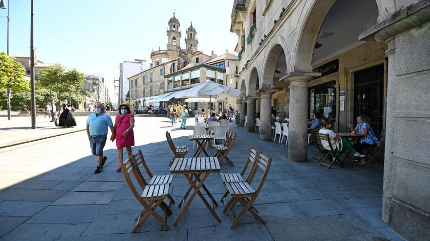 Sanidade extiende las restricciones en Pontevedra, Poio, Marín y Sanxenxo