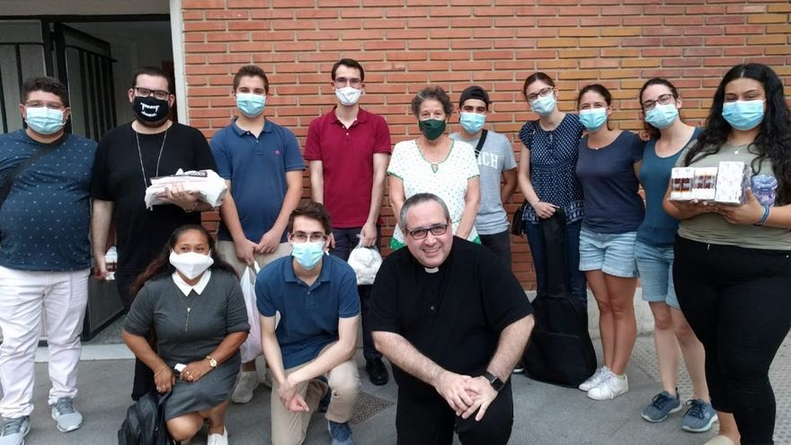 """Solidaridad en pandemia con los """"sin techo"""""""