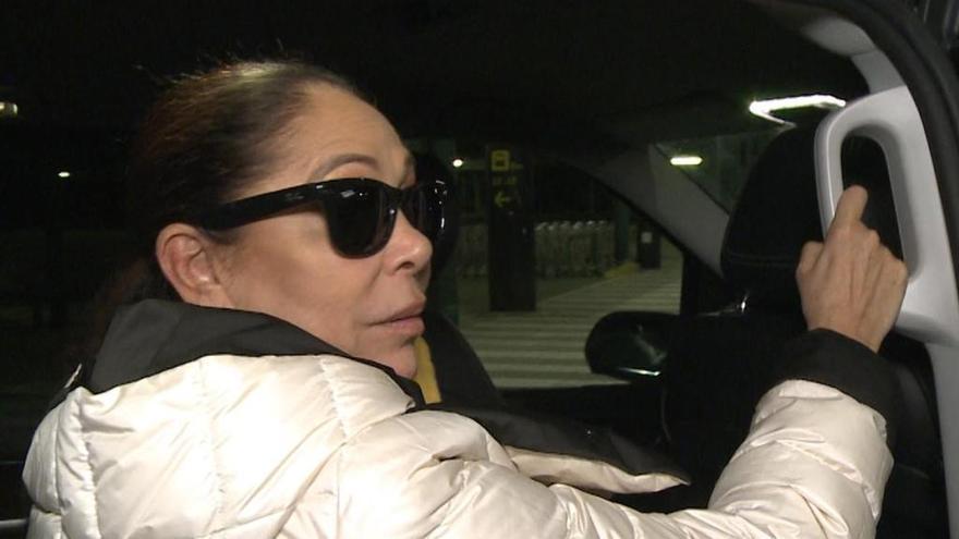 Isabel Pantoja no sabe si irá al cumpleaños de Kiko Rivera