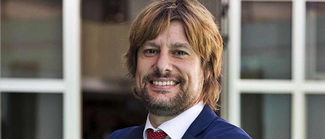Rubén Buenos ha participado en las jornadas «Cambio Climático, globalización y salud». | RAFA ARJONES