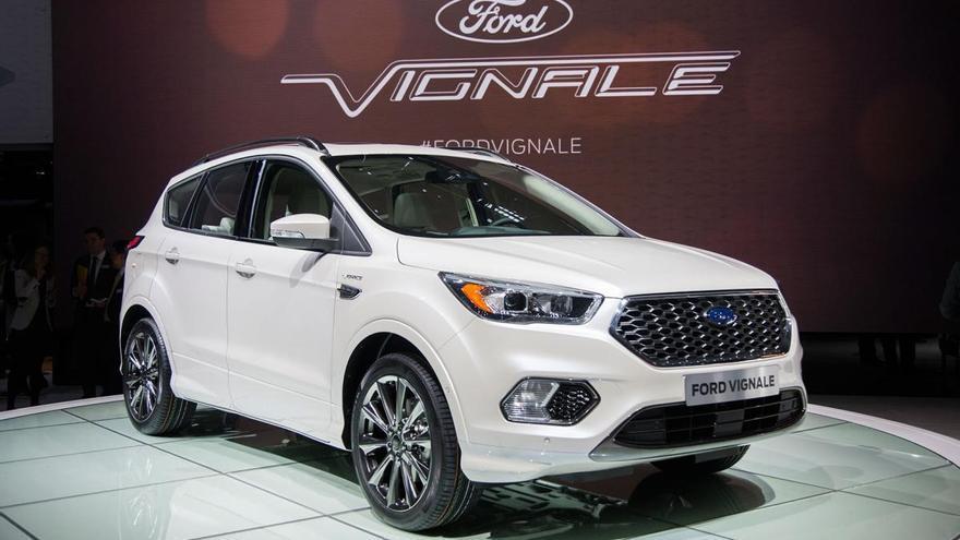 Ford lanzará a finales de año la versión híbrida del Kuga