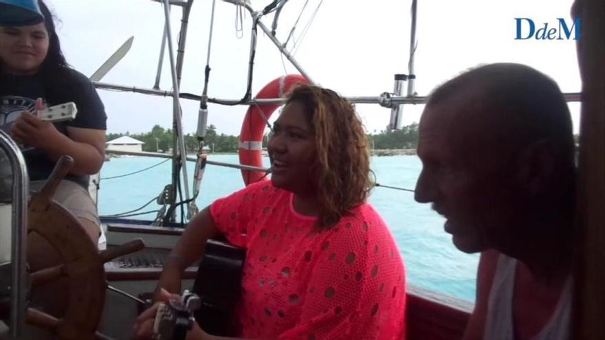 Canción típica tradicional de la Polinesia