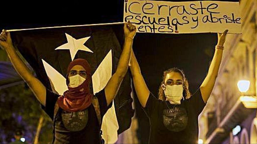 Continuen les protestes a Puerto Rico per exigir la dimissió del governador