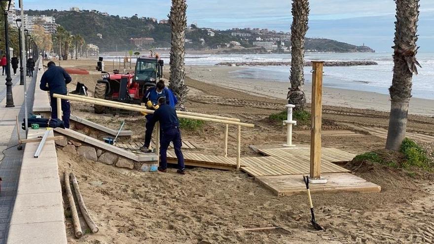 'Filomena' destapa otra vez la urgencia de obras en el litoral de Castellón