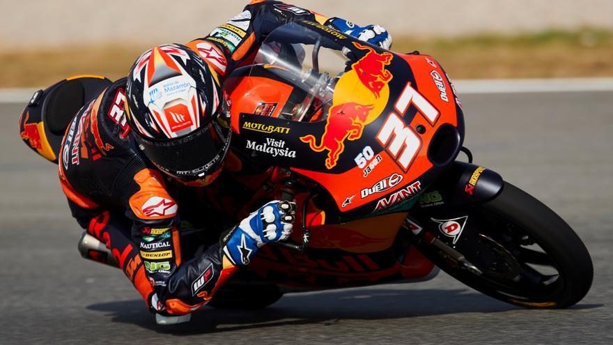 Acosta se reencuentra con la victoria en Moto3