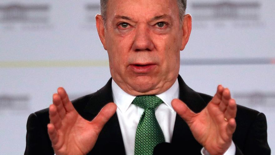 Colombia rechaza que Juan Manuel Santos esté detrás del atentado contra Nicolás Maduro