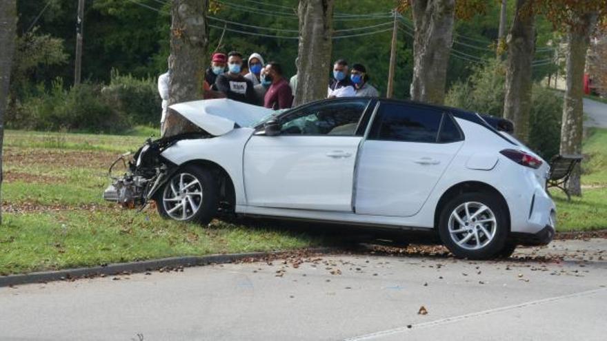Accident de trànsit a Olot