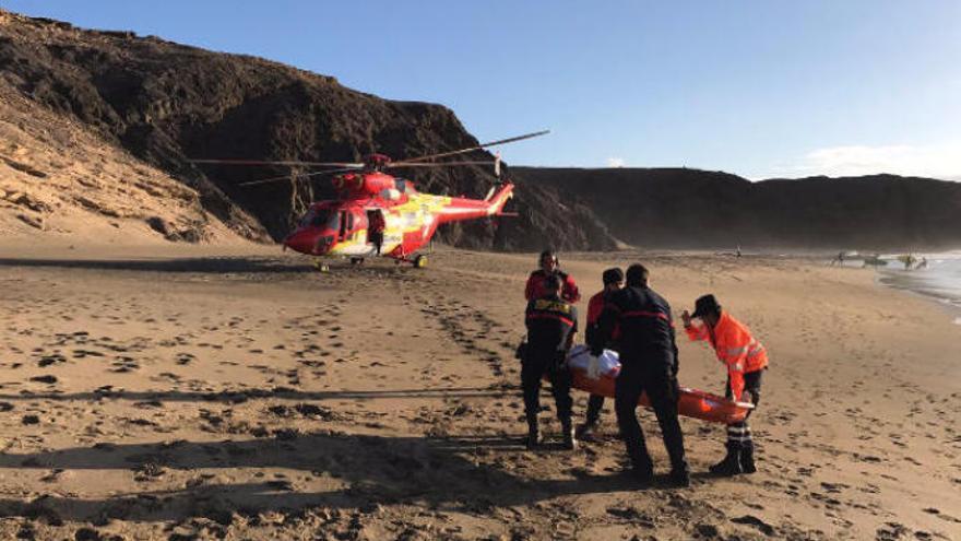 Las muertes por ahogamiento vuelven a superar en 2019 a las registradas en accidentes de tráfico en Canarias