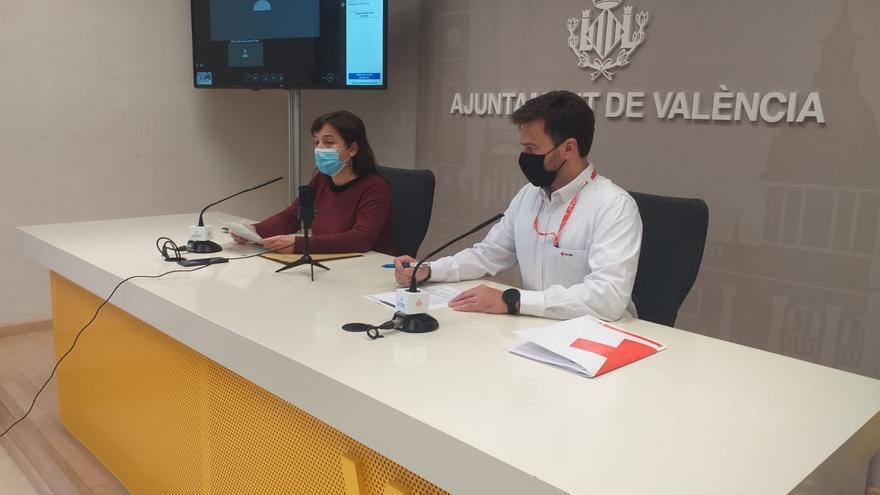 El Ayuntamiento de Valencia y Cruz Roja crean un albergue para sin techo frente al coronavirus