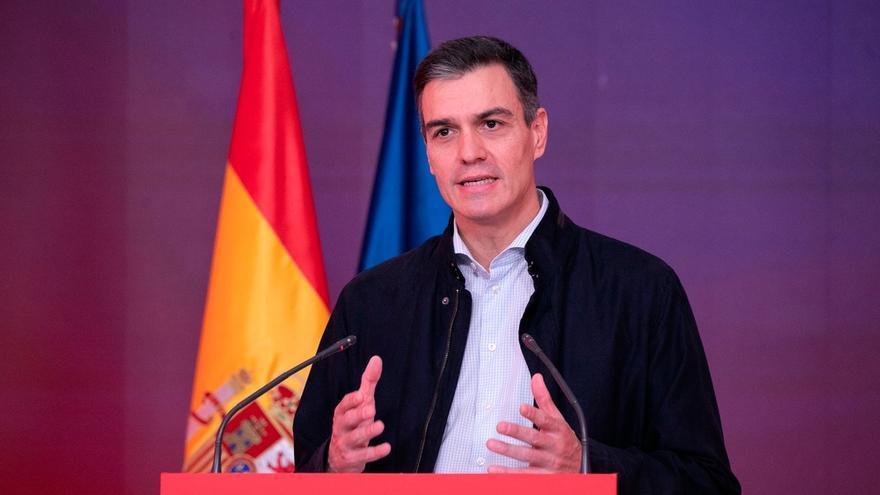 """Sánchez: """"Los expertos vaticinan que asistiremos a una etapa  crítica de la pandemia coincidiendo con las primeras vacunas"""""""