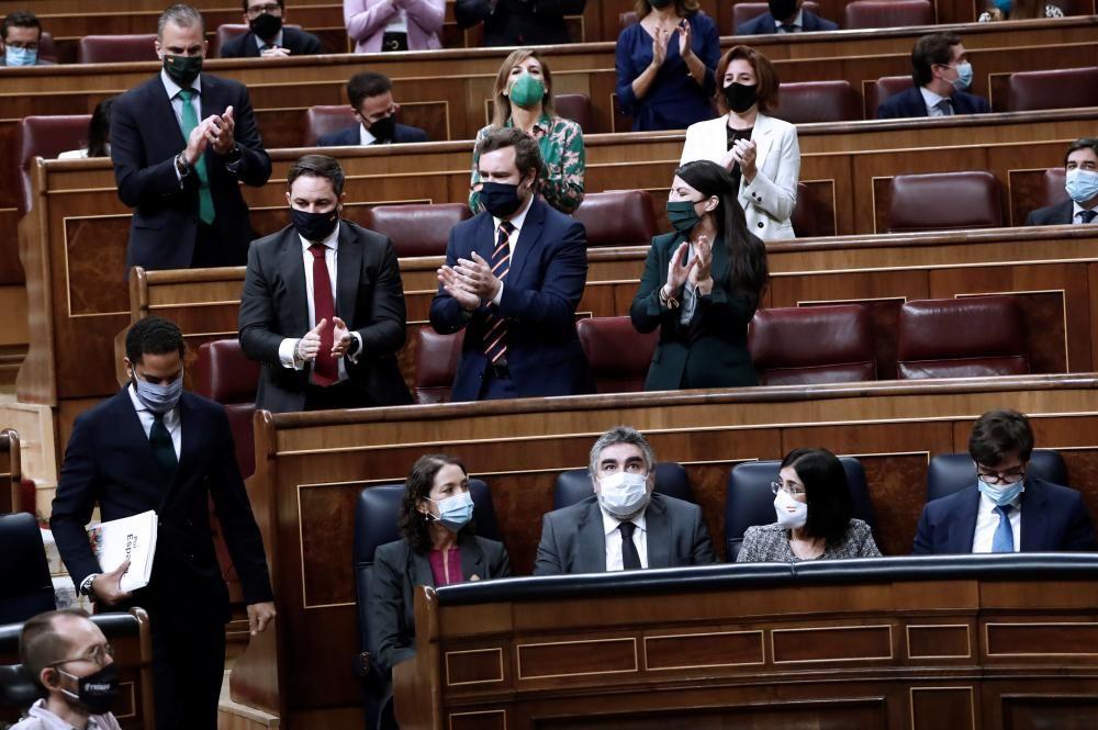 Vox lleva al Congreso su moción sin un solo ...
