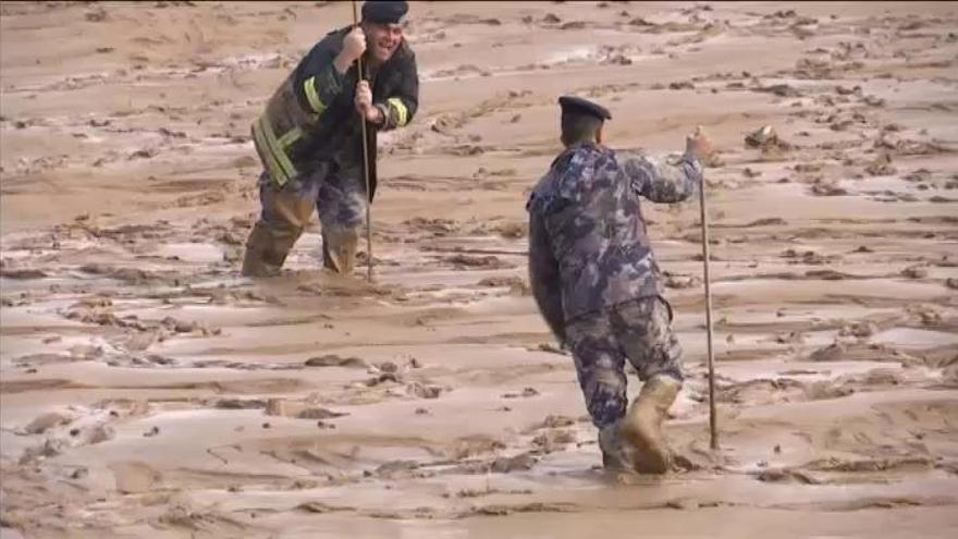 Once muertos a causa de las inundaciones en Jordania