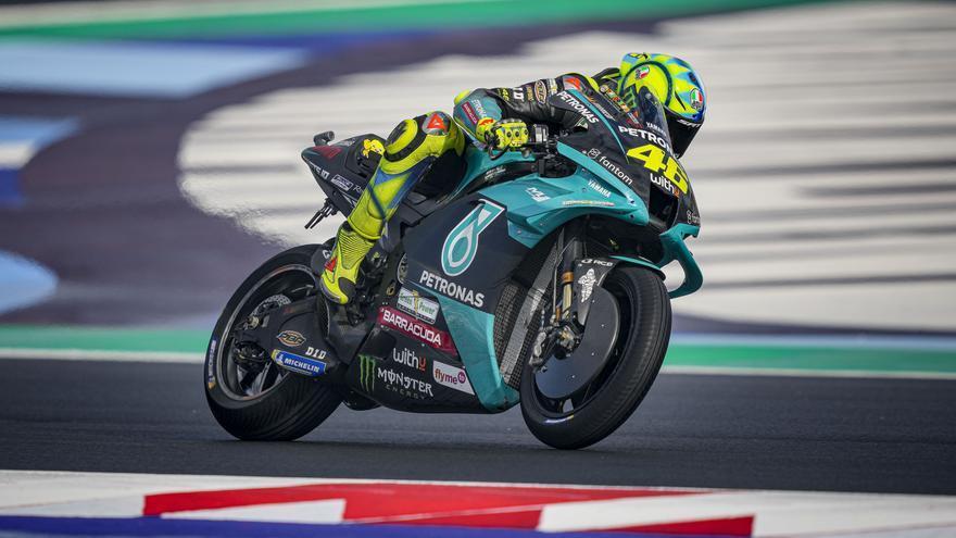 Rossi recuerda al fallecido Marco Simoncelli