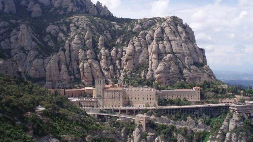 El monestir de Montserrat, escenari de la nova novel·la de Dan Brown