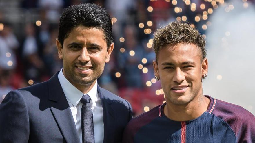 """Neymar, a la afición del PSG: """"He venido a hacer historia"""""""