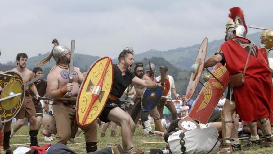 """Asturies, el """"Vietnam"""" de Roma: el César destinó a 48.000 homes pa desaniciar a los guerreros astures y cántabros"""