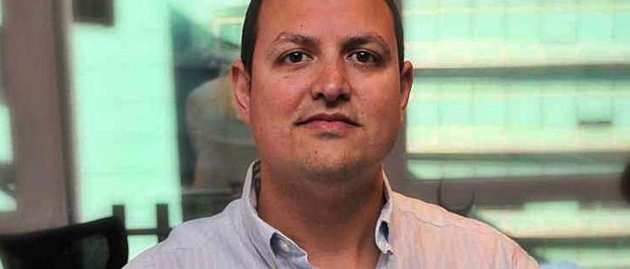 El empresario Alberto García. |