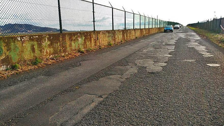 Comienza la última fase  de las obras de reasfaltado del camino El Matadero en La Laguna