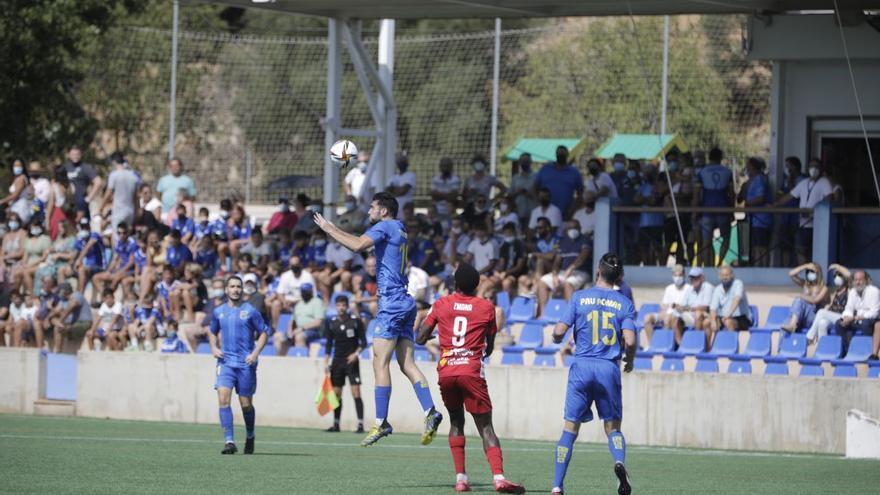 El Andratx pierde ante el Teruel en su debut en casa