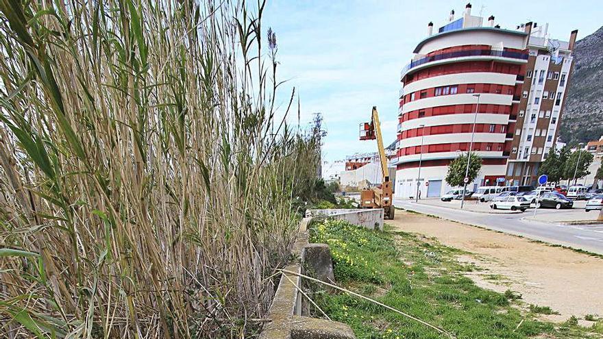 La diputación inyecta 250.000 euros al muro antirriadas  de Tavernes
