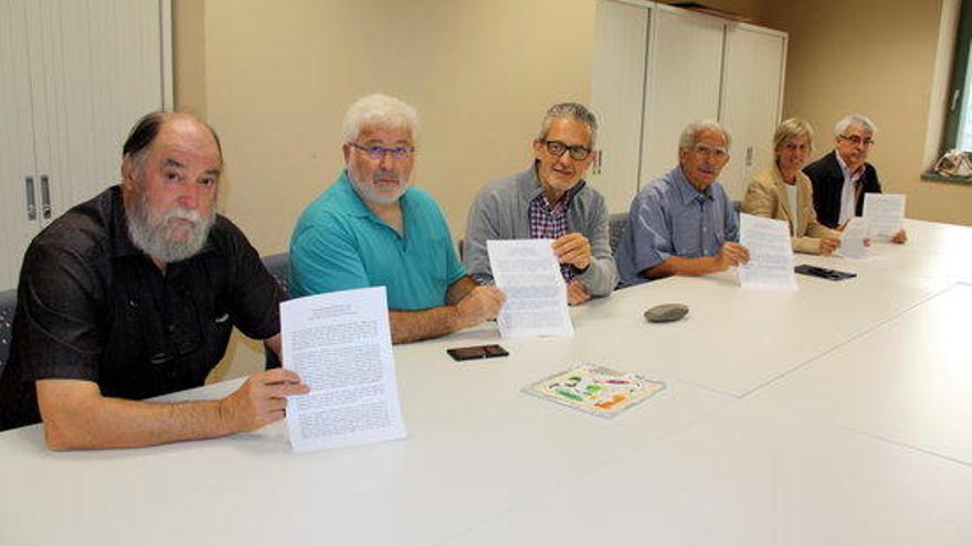Pere Moradell, Martí Sans i Consol Cantenys, a favor de la candidatura d'Iceta