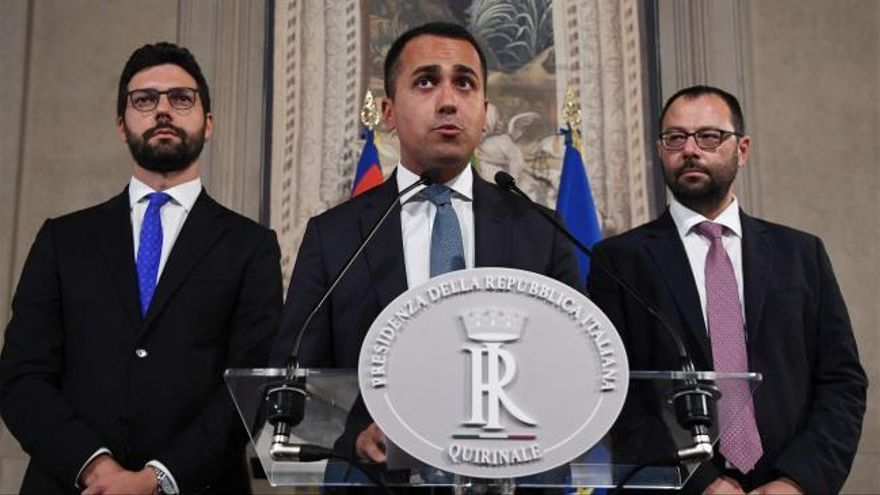 El M5S y el PD relegan a Salvini a la oposición