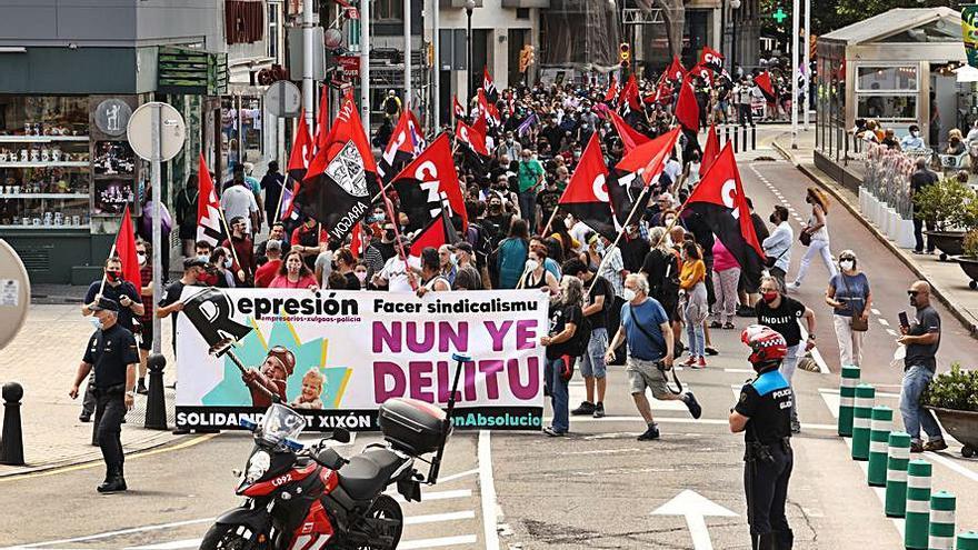 La CNT clama contra la pena por La Suiza