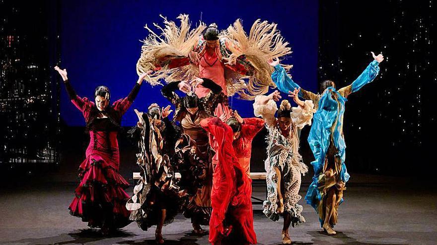Entre flamenco y manzanas