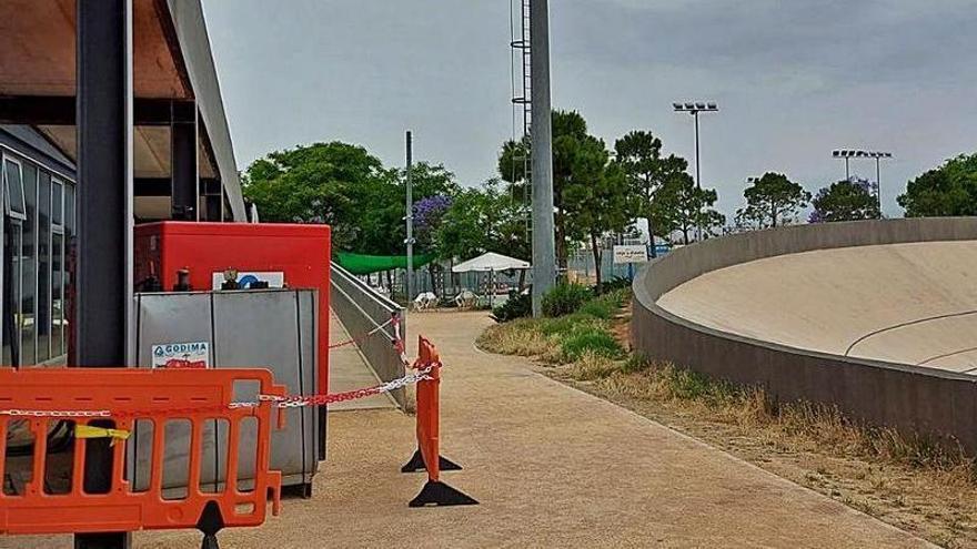 El Velódromo exige a San Vicente que reponga 1.500 metros de cable robado
