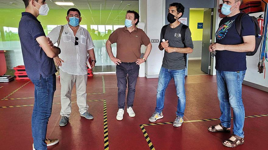 IES Laxeiro y Concello concretan la gestión del nuevo ciclo de adecuación física
