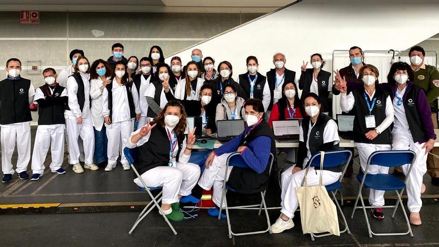 Los enfermeros de Pontevedra destacan su papel en la lucha contra el COVID